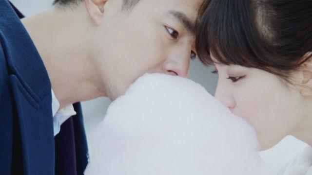 [달달키스] 송혜교, 조인성 심장이 녹을 것 같은 '솜사탕키스'