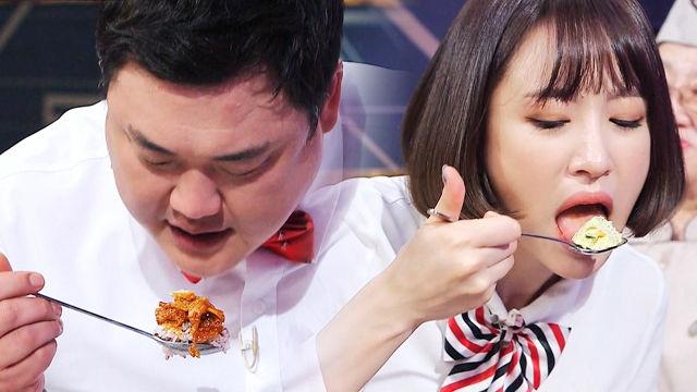 하니·김준현, 거제 제육볶음 앞에서 '먹성 폭발'