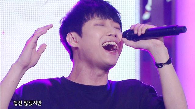 '노래하는 매니저' 지우진, 매력적인 미성 '안녕 사랑아'