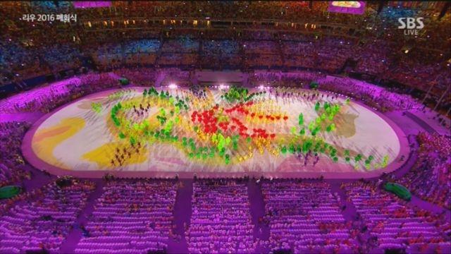 리우올림픽 폐회식 부를리 마르스의 예술