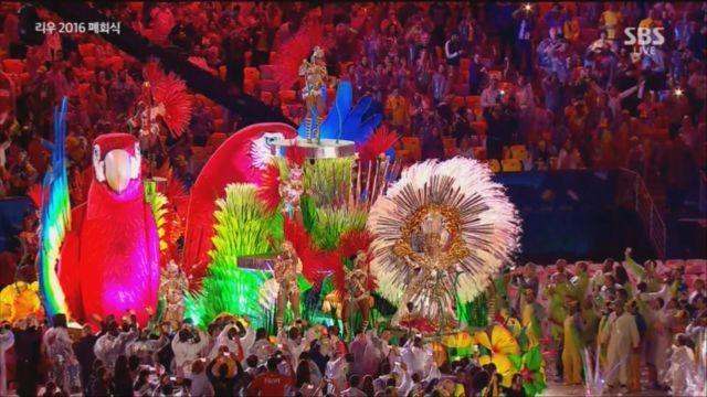 리우올림픽 폐회식 화려함의 끝! 카니발