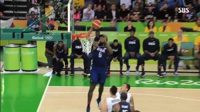 농구 남자 결승 미국 vs 세르비아 하이라이트