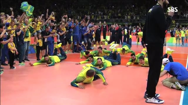 배구 남자 결승전 브라질 vs 이탈리아