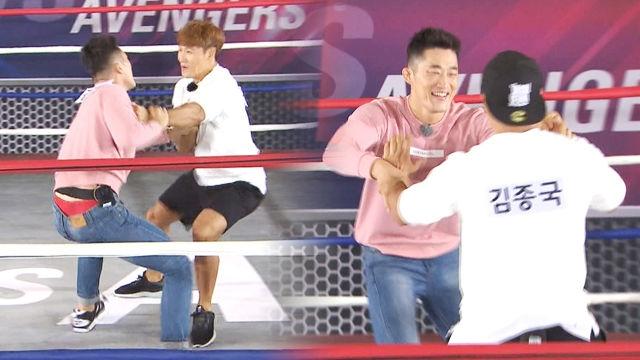 김종국·김동현, 다시 만난 남자들의 대결! '승자는 누구?'