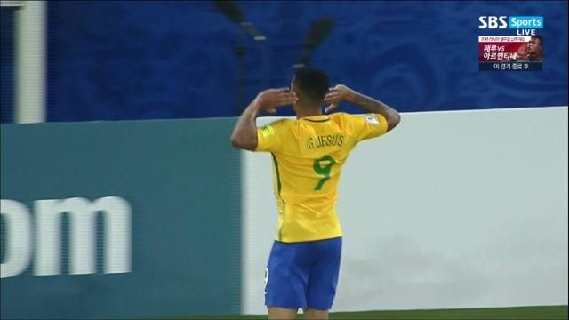 '떠오르는 신예' 제주스, 이게 브라질 축구다