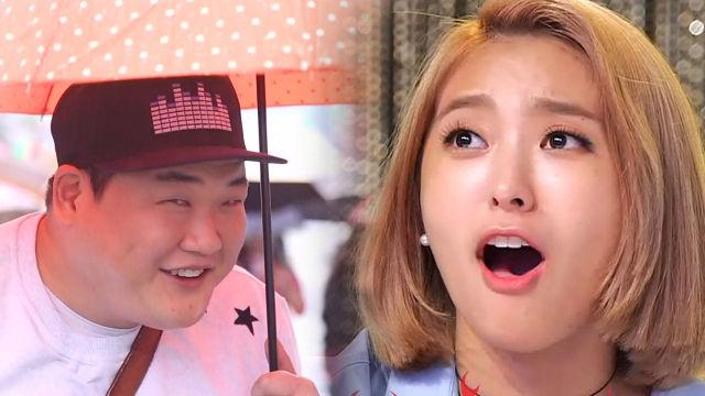 보라, 먹방계 강동원 김준현의 등장에 '진심 놀람'