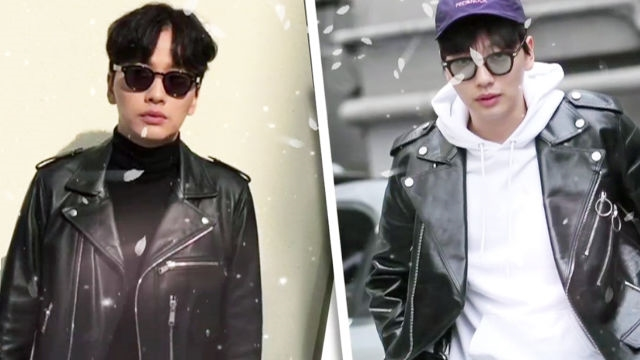 셀럽's 스타일, 라이더 재킷 룩의 붐을 일으킨 스타 '이동휘'