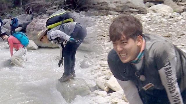김환, 중심 못 잡고 앞으로 꽈당 '아픔보다 큰 민망함'