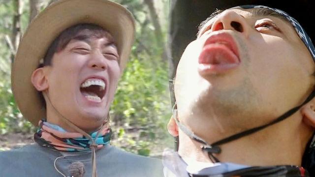 권오중, 독보적인 19금 캐릭터 '에로틱 물 마시기'