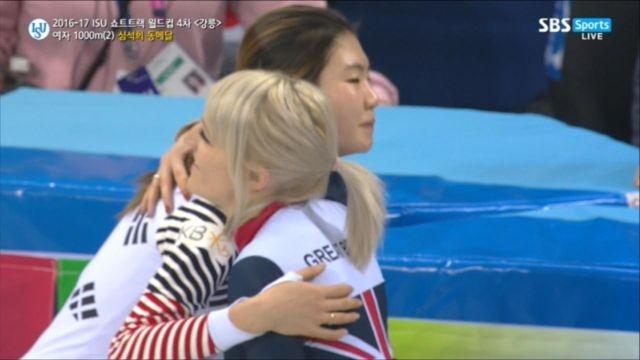 [쇼트트랙 월드컵 4차] 여자 1000m 심석희 동메달!