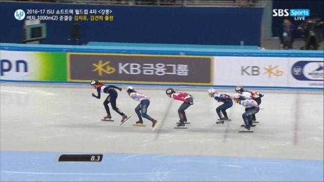 [쇼트트랙 월드컵 4차] 여자 1000m 준결승 김지유 김건희