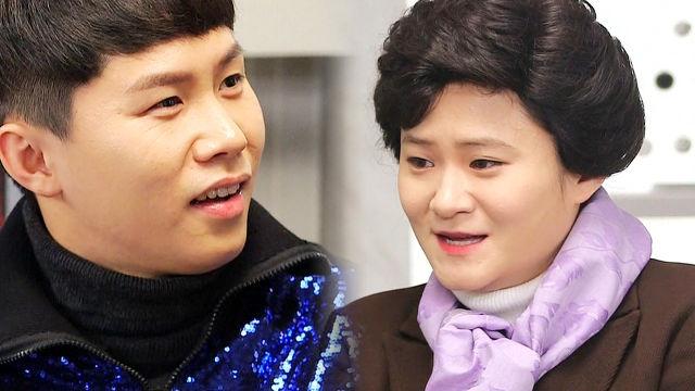 """김신영, 박근혜 대통령으로 완벽 변신 """"머리하느라 늦었습니다"""""""