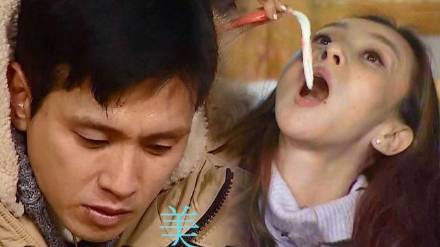 구본승, 권민중에 홍게 건네며 '오빠 매력 발산'