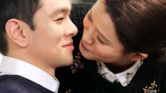 """김신영, 이규한 협박하며 """"옷 벗겨 목욕시킨다"""""""