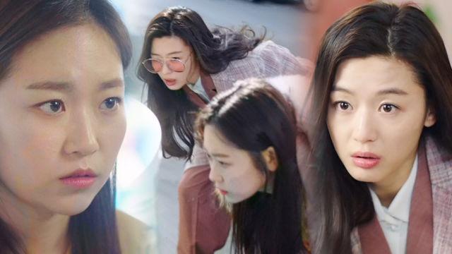 """전지현 '후배 인어' 김슬기에 """"심장 굳기 전에 어서 ... 썸네일 이미지"""