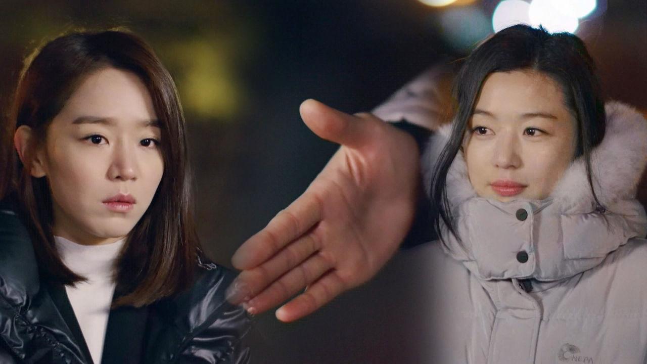 """전지현, 신혜선에 손 내밀며 """"떠나야 해서 작별 인사하러 왔다"""" 썸네일"""