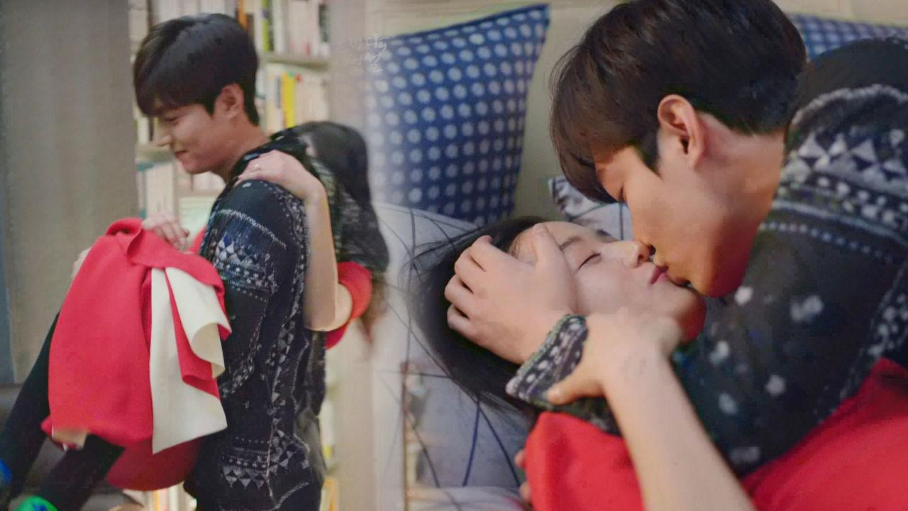 이민호♥전지현 화끈한 침대 키스하며 '더티러브' 입문 썸네일