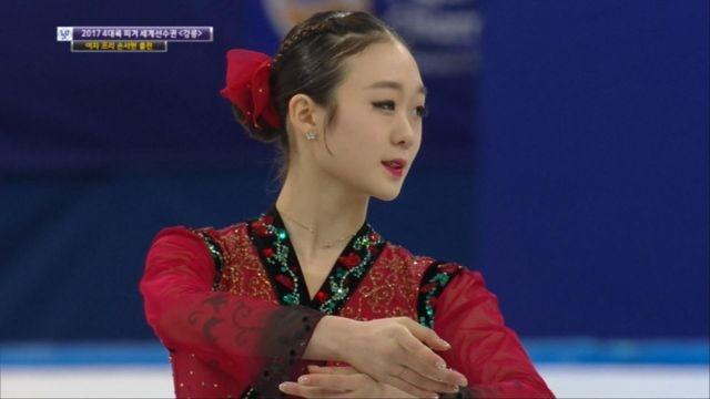 [4대륙 피겨] 여자 프리, 대한민국 손서현 출전