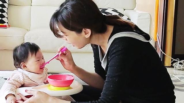 정가은, 이유식 다이어트 식단 공개