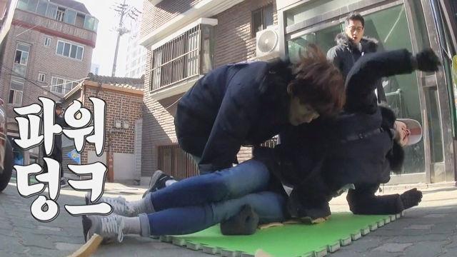 이광수, 송지효와 인정사정 없는 박 깨트리기! '파워 ... 썸네일 이미지