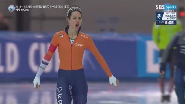 [스피드 월드컵 파이널] 여자 1000m, 우승을 차지... 썸네일 이미지