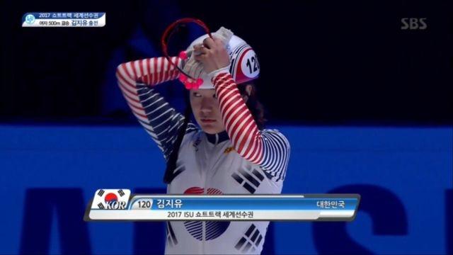 [쇼트트랙 세계선수권대회] 여자 500m 결승, 김지유... 썸네일 이미지