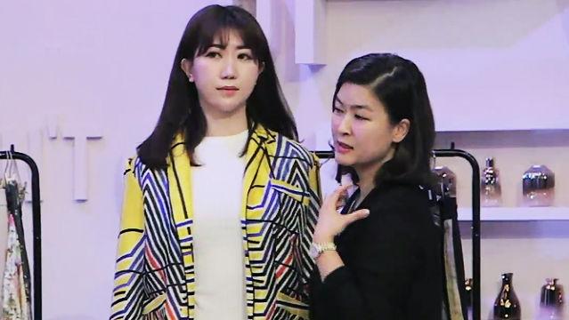 김수진의 스킬 '뱃살 흡입 스타일링'