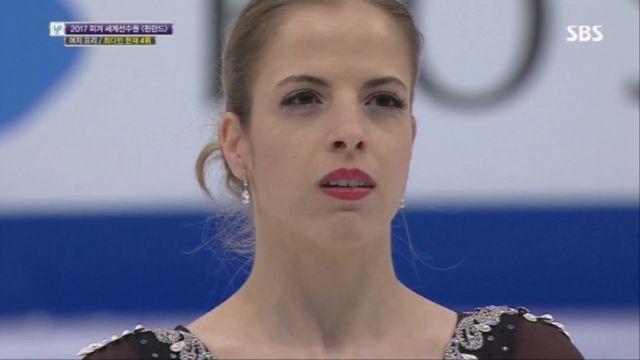 [피겨 세계선수권] 여자 프리, 캐롤리나 코스트너 출전 썸네일 이미지
