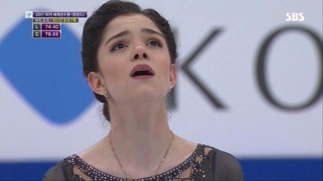 [피겨 세계선수권] 여자 프리, 메드베데바 또 다시 세... 썸네일 이미지