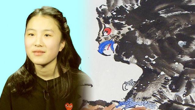 신사임당의 재림? 놀라운 실력의 13세 한국화 소녀