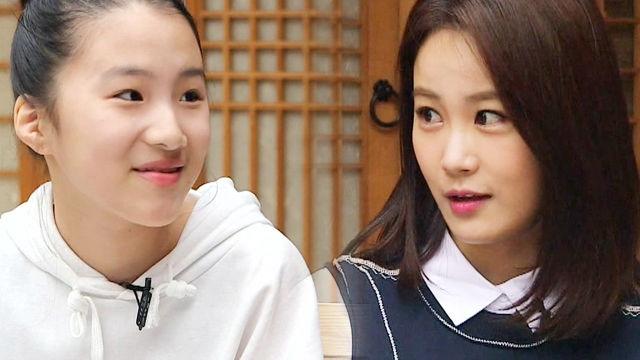 김지민, 하고 싶은 게 많은 '한국화 소녀'에 정감 어린 조언