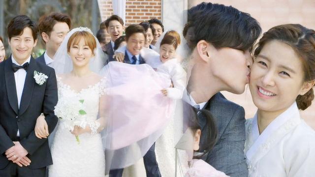 유세례♥이완, 온 가족의 축하 속 결혼식 '해피 엔딩'