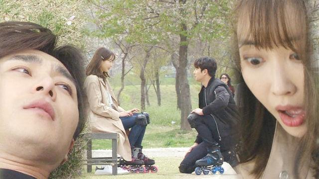 김민수·왕지혜, 달달한 '롤러블레이드' 데이트 썸네일 이미지