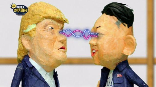 [캐리돌배 알까기 대회] 트럼프 7단 vs 김정운 3단