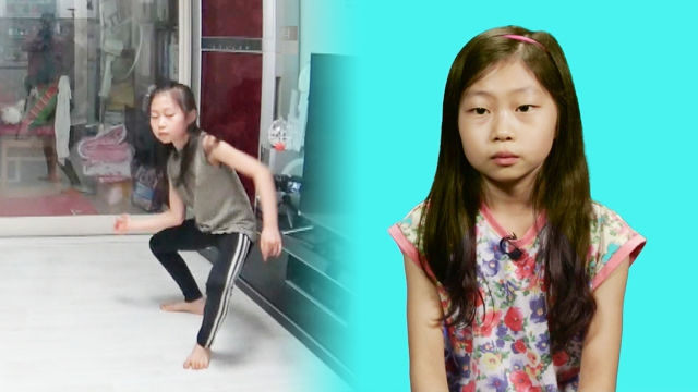 목탁소리에 리듬을 타는 만 9세 댄스 스타 여원이!
