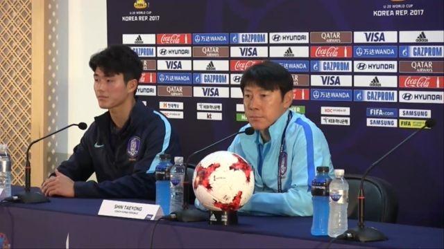 U-20 남자축구 국가대표 기자회견 신태용 감독의 출사... 썸네일 이미지