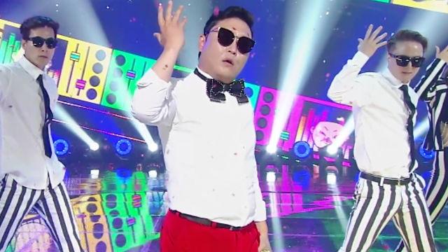 춤신춤왕 '싸이' 명불허전 'NEW FACE'