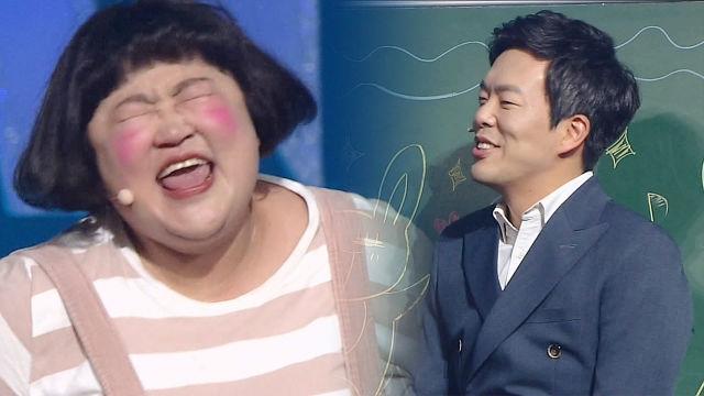 """홍윤화, 눈물로 외치는 뜨거운 진심 """"선생님 사랑해요"""" (콩닥콩닥민기쌤)"""