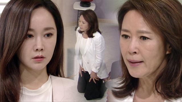 차화연, 김민서에 무릎 꿇고 사죄 '감옥행 결심'