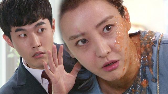 """박은혜, 김호창 맞선 상대 물벼락 대신 맞아 """"내 남자야"""""""