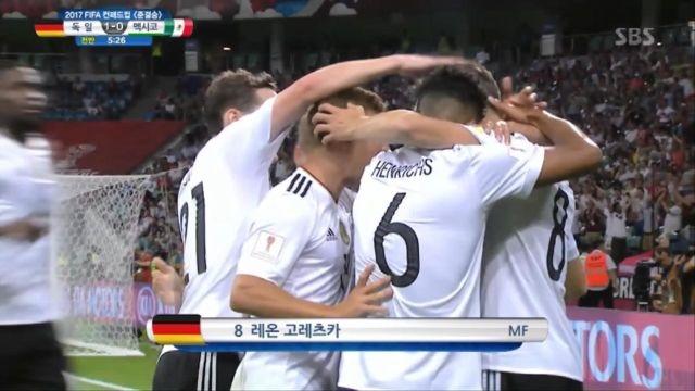 [독일 vs 멕시코] 역습은 이렇게, 고레츠카의 선제골 썸네일 이미지