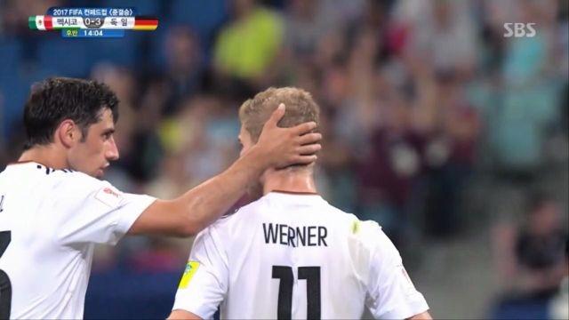 [독일 vs 멕시코] 베르너의 추가골, 멕시코 망연자실 썸네일 이미지