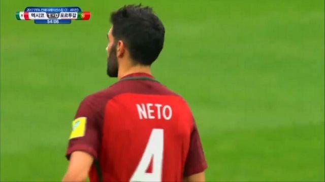 [포르투갈 vs 멕시코] '이럴수가' 네투의 자책골, ... 썸네일 이미지