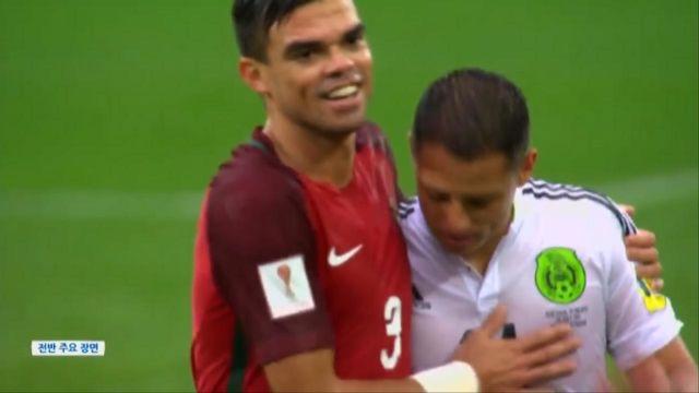 [포르투갈 vs 멕시코] 전반 하이라이트 썸네일 이미지