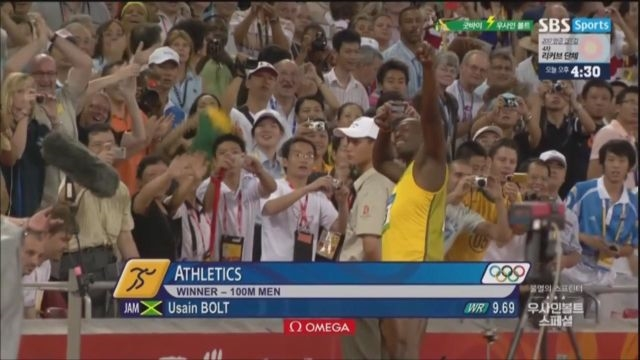 [우사인 볼트 스페셜] 베이징올림픽 100m 준결승/ ... 썸네일 이미지