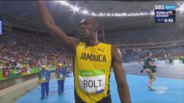 [우사인 볼트 스페셜] 리우올림픽 200m 결승 썸네일 이미지
