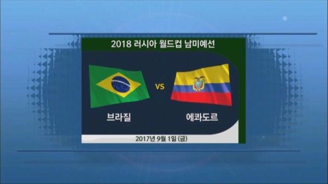 [남미예선] 브라질 vs 에콰도르 하이라이트