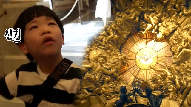 그림 영재 김하민, 바티칸 미술관 방문에 '흥분'