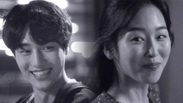 서울행 기차에 오르는 진짜 커플 '사랑의 미소' 썸네일 이미지