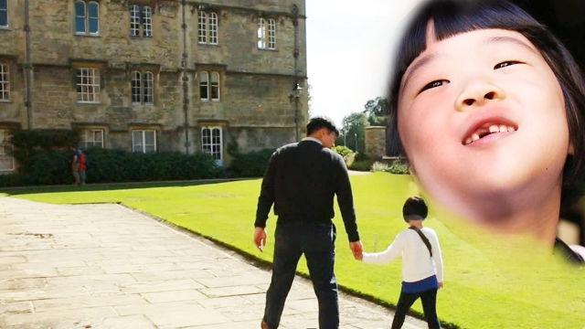 6살 영어 소녀 노은이의 '옥스퍼드 대학 탐방기'